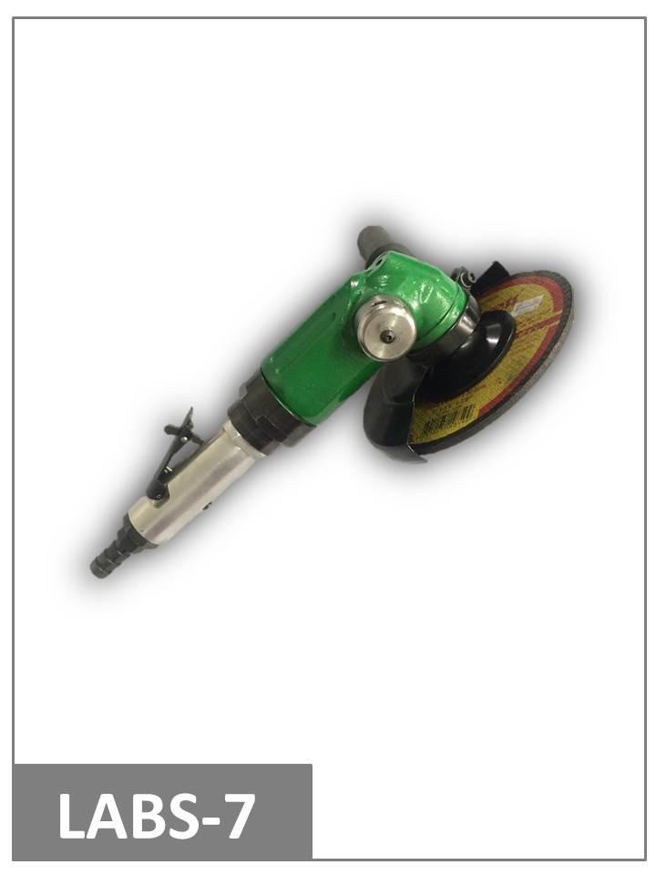 Esmerilhadeira pneumática angular